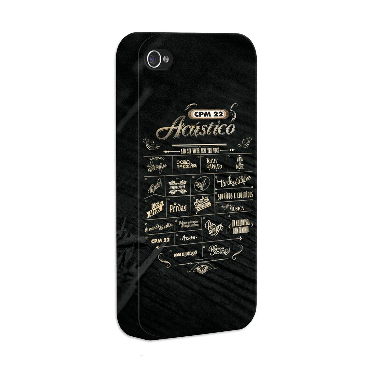 Capa de iPhone 4/4S CPM 22 Setlist