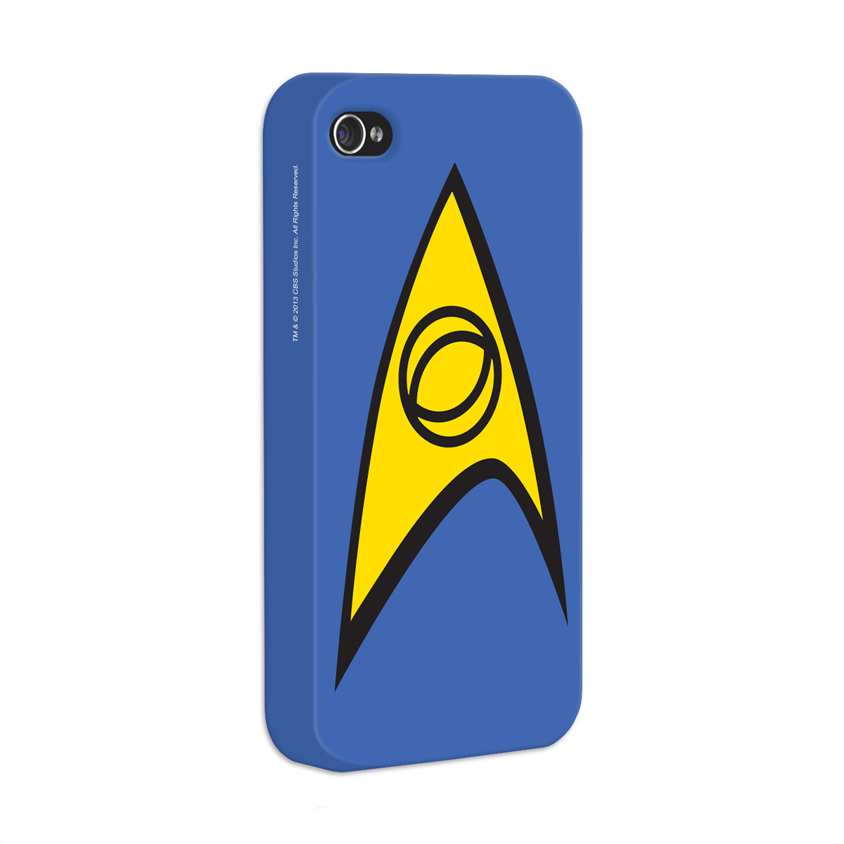 Capa de iPhone 4/4S Star Trek Command  Blue
