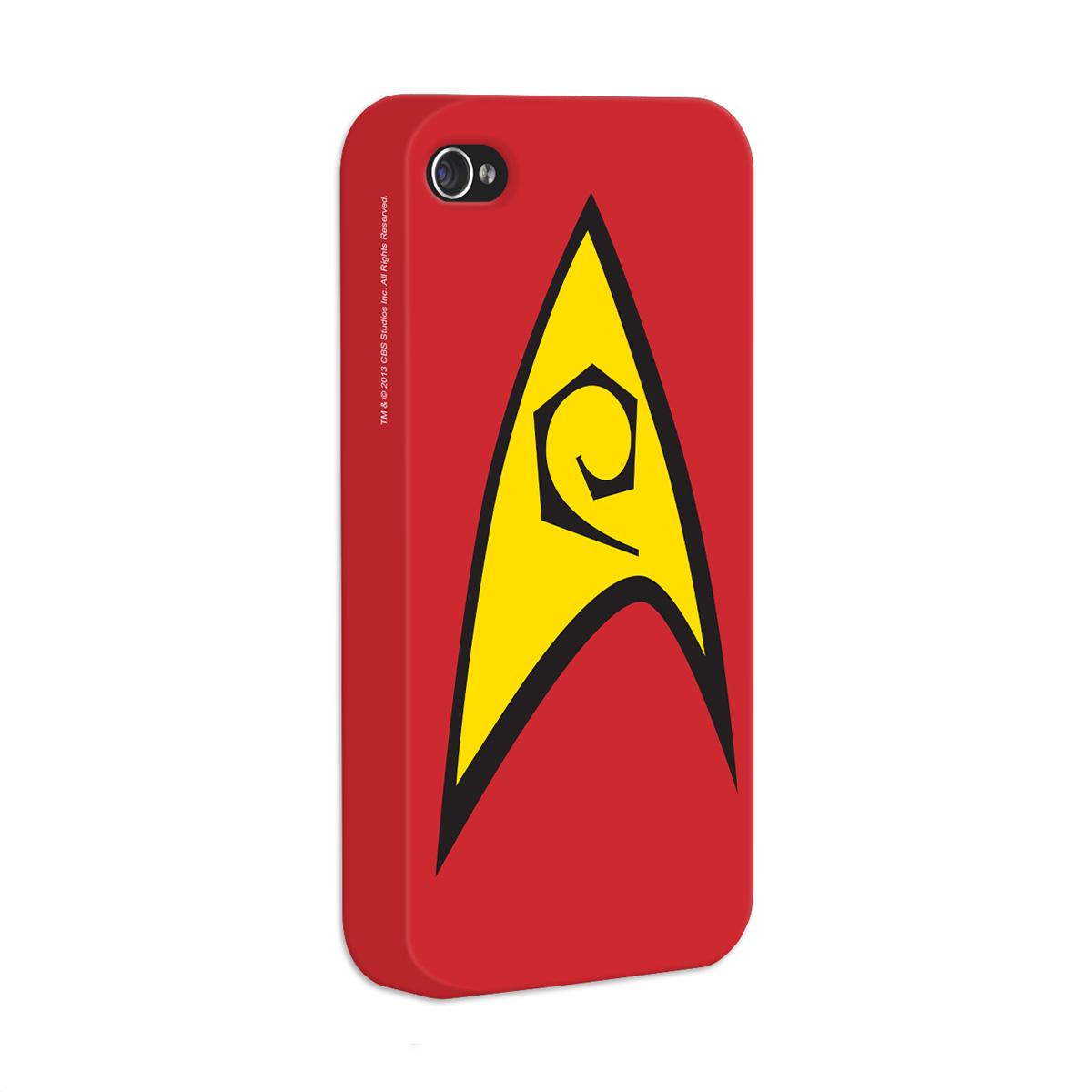 Capa de iPhone 4/4s Star Trek Command Red