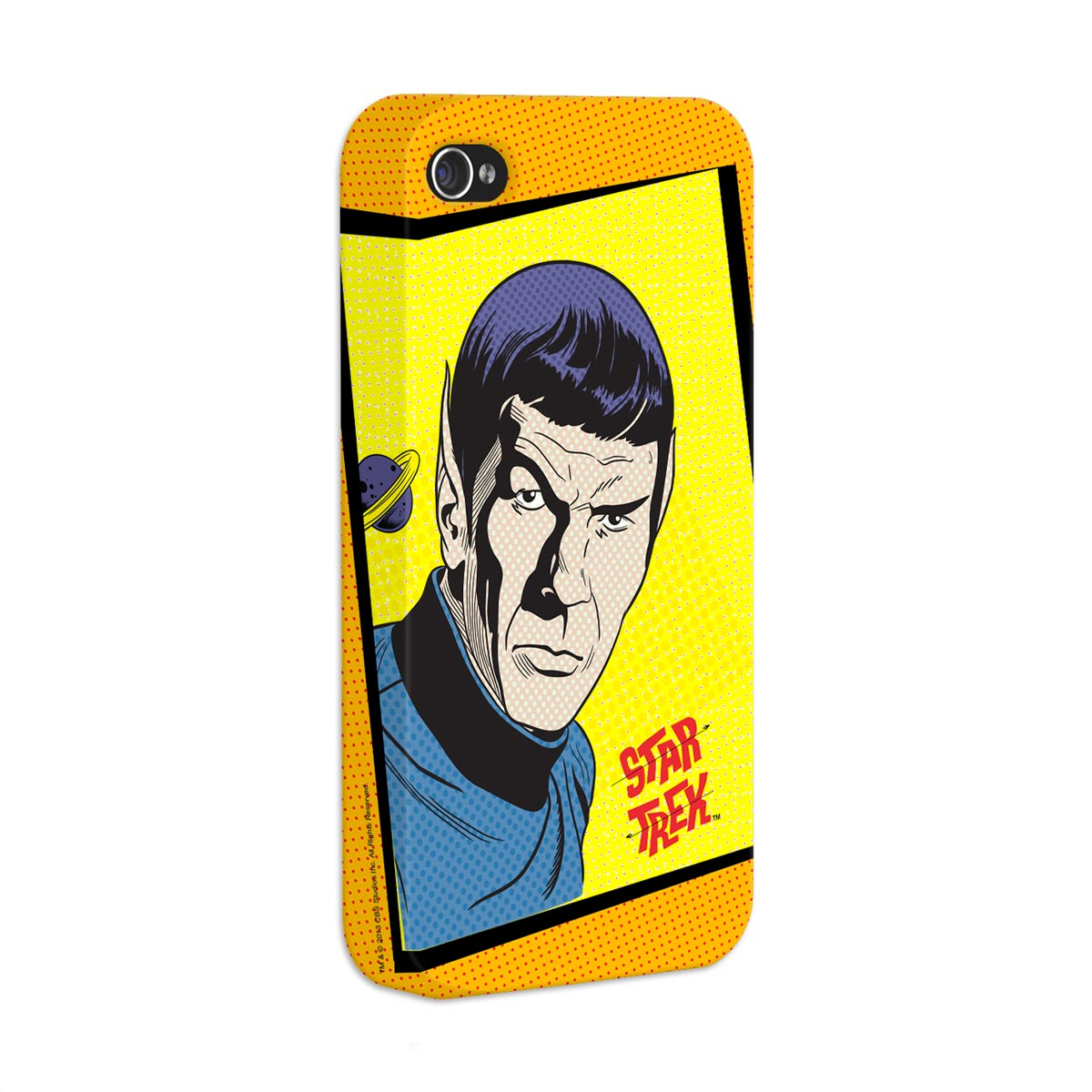 Capa de iPhone 4/4S Star Trek Face Spock