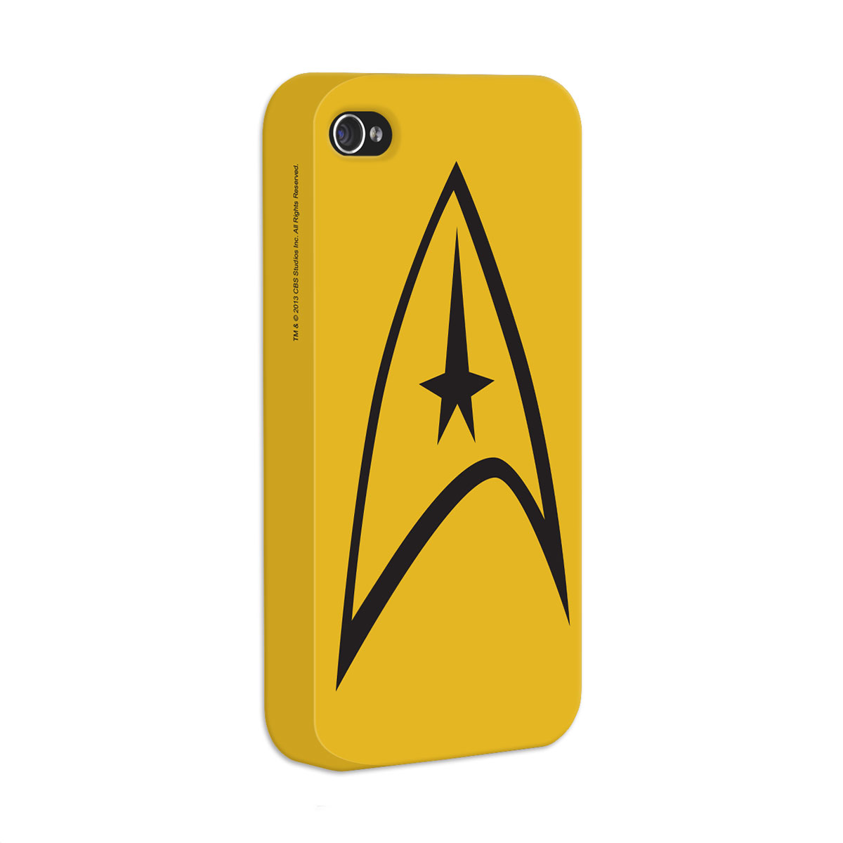 Capa de iPhone 4/4S Star Trek Yellow