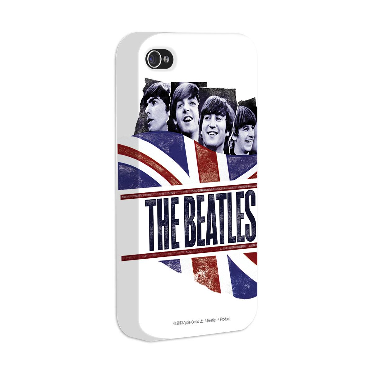 Capa de iPhone 4/4S The Beatles England Flag
