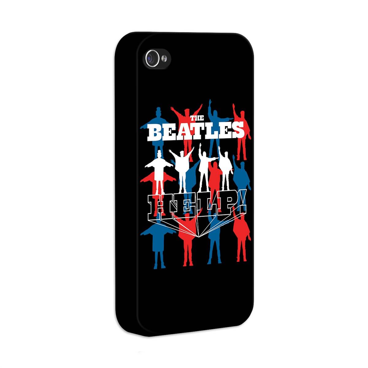 Capa de iPhone 4/4S The Beatles Help