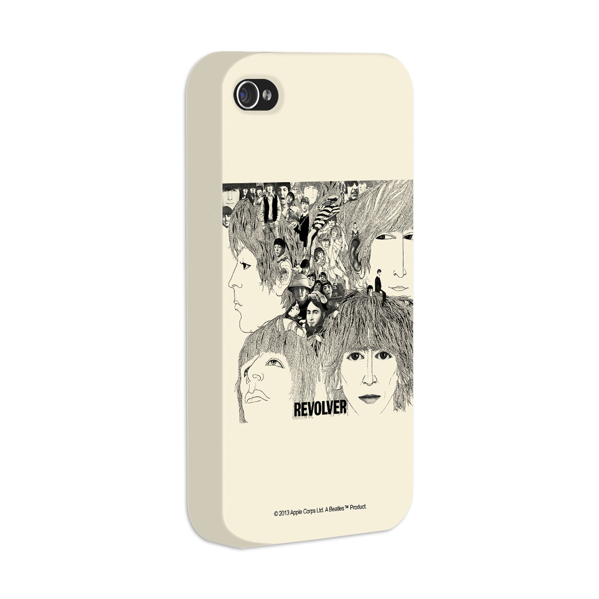 Capa de iPhone 4/4s The Beatles Revolver