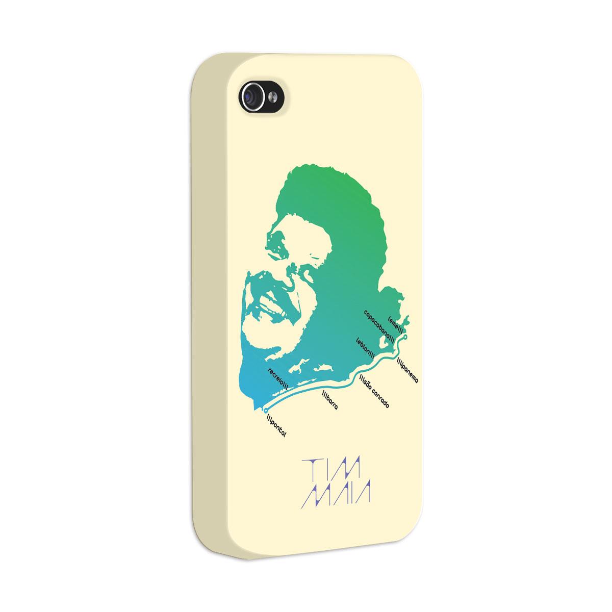Capa de iPhone 4/4S Tim Maia O Rio de Janeiro Continua Lindo