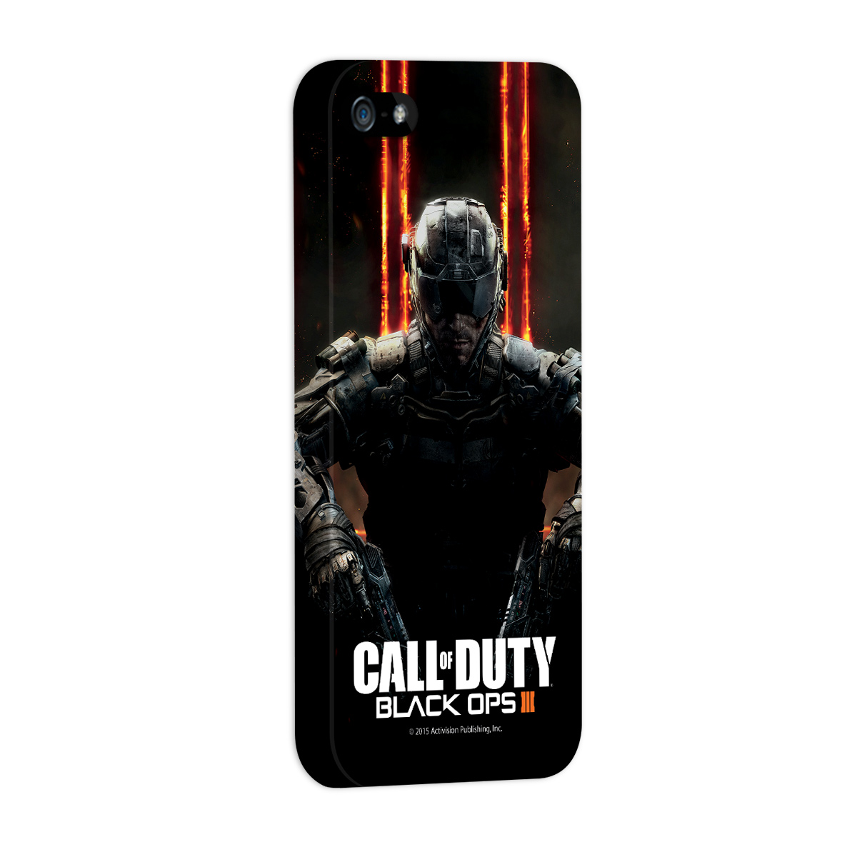 Capa de iPhone 5/5S Call of Duty Soldier 2015