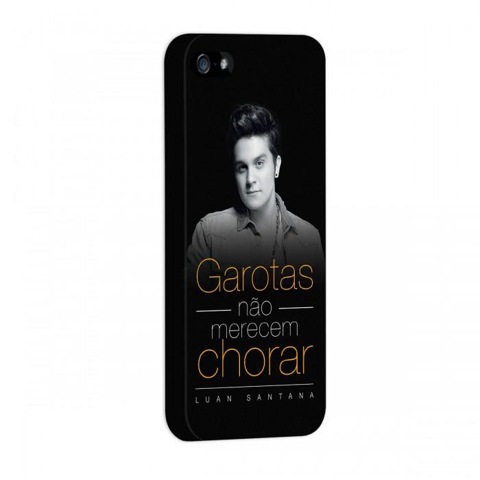 Capa de iPhone 5/5S Luan Santana Garotas Não Merecem Chorar