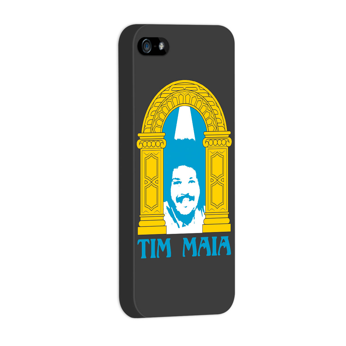 Capa de iPhone 5/5S Tim Maia Racional 2