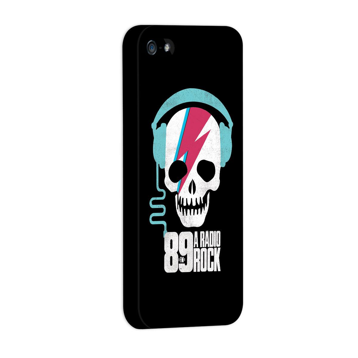 Capa de iPhone 5/5S 89 FM Thunder Skull