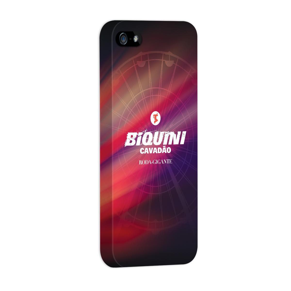 Capa de Iphone 5/5S Biquini Cavadão Logo