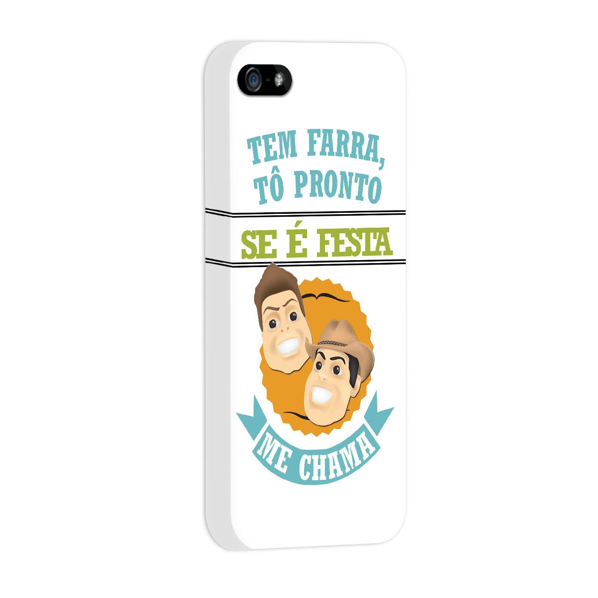 Capa de iPhone 5/5S Fernando e Sorocaba É Tenso Modelo 5