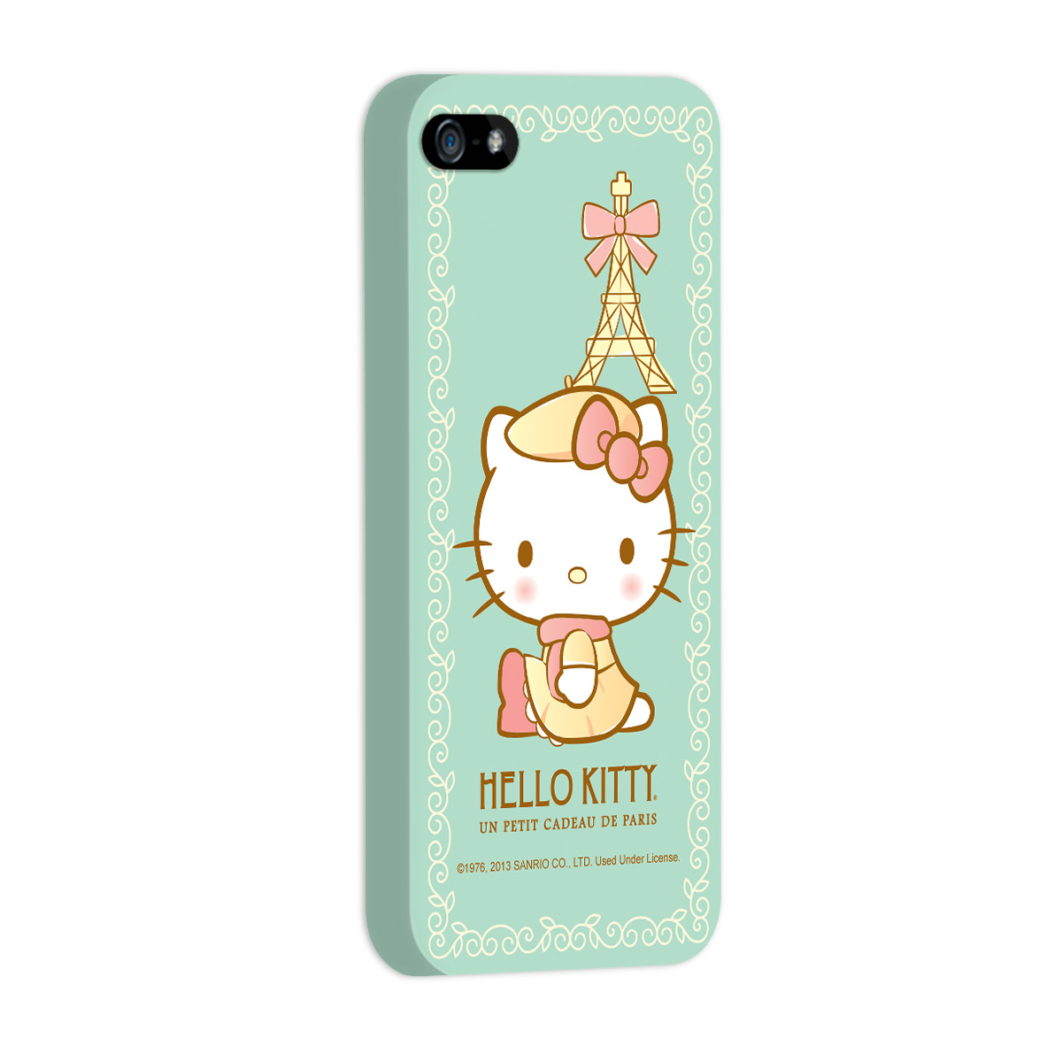 Capa de iPhone 5/5S Hello Kitty Un Petit Cadeau