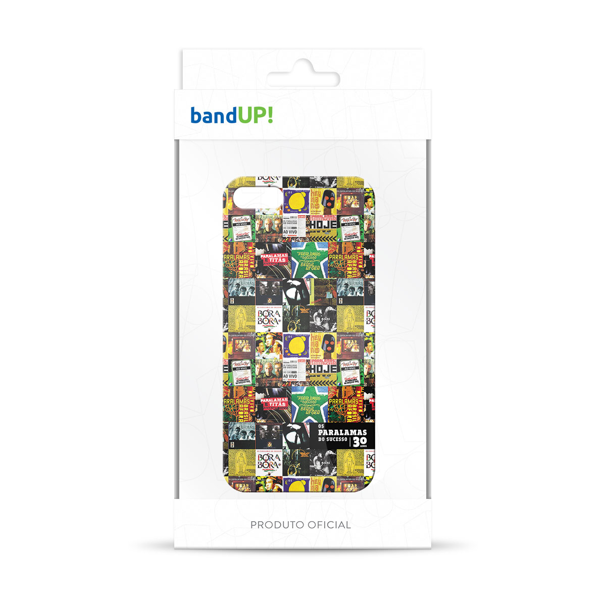 Capa de iPhone 5/5S Os Paralamas do Sucesso 30 Anos