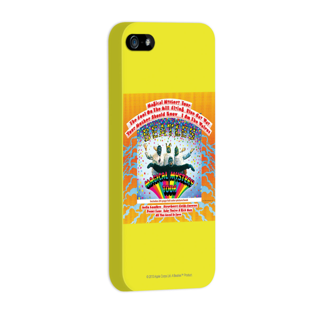 Capa de iPhone 5/5S The Beatles Magical Mistery Tour