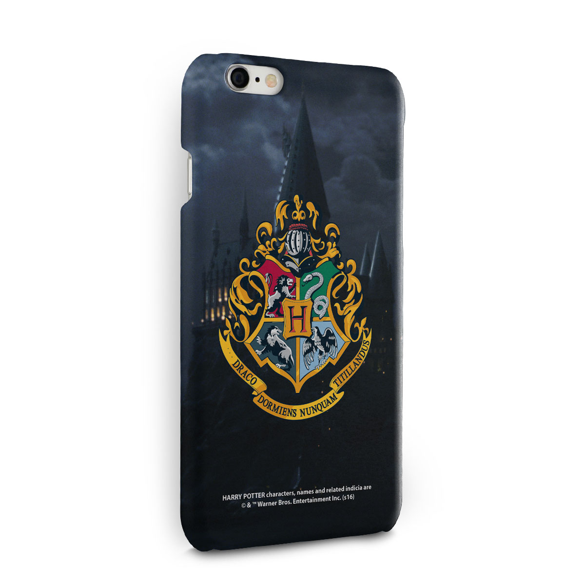 Capa para iPhone 6/6S Harry Potter Hogwarts
