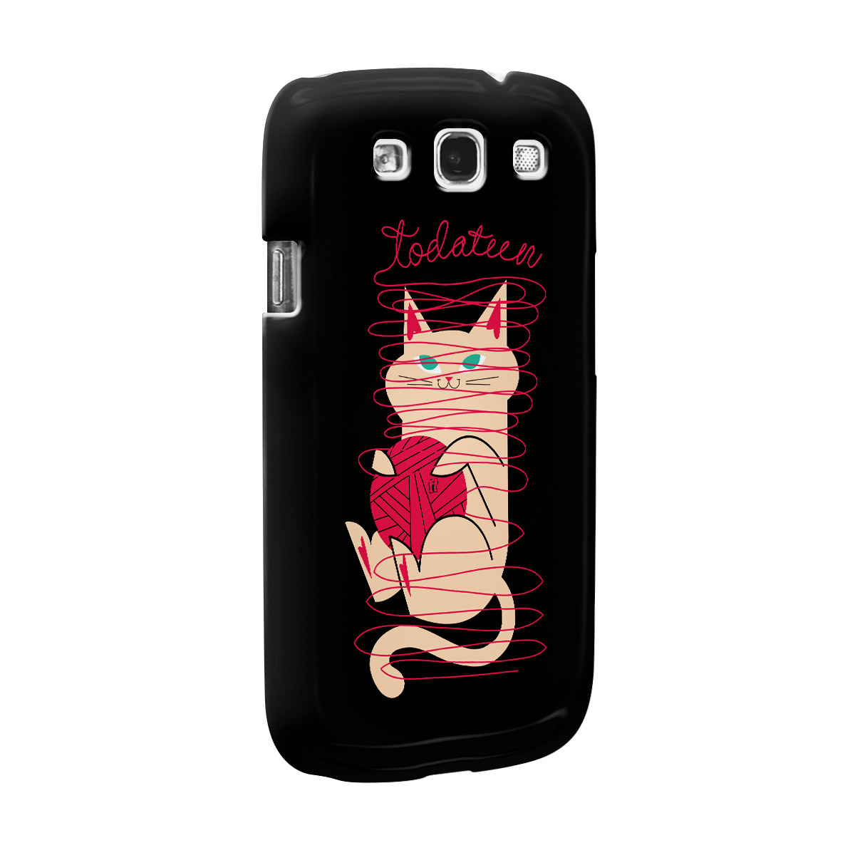 Capa para Galaxy S3 TodaTeen Cat