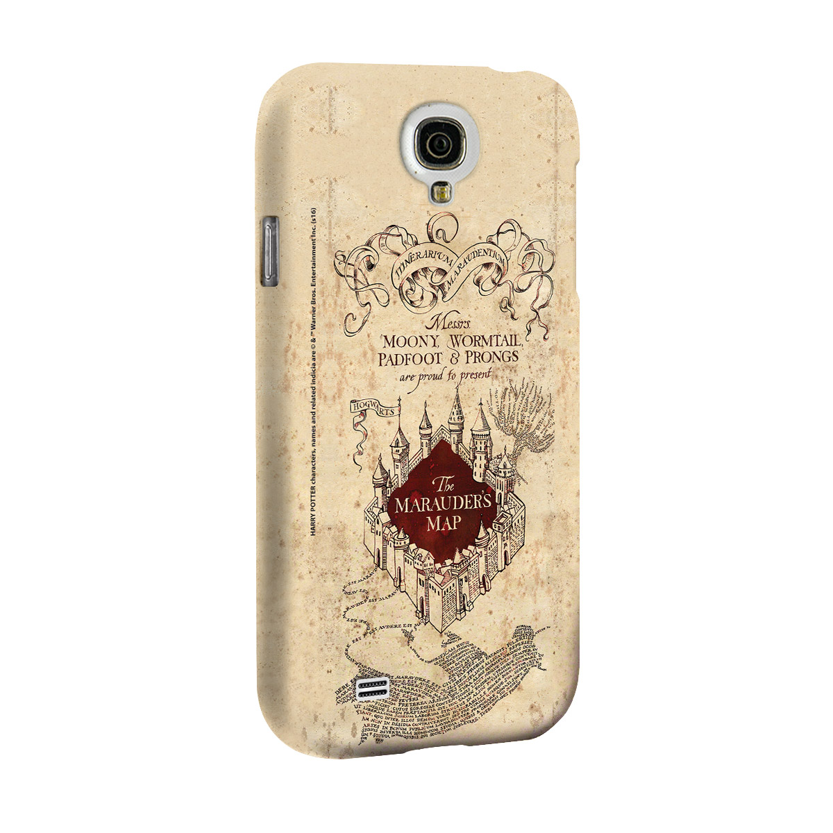 Capa para Galaxy S4 Harry Potter The Marauder´s Map