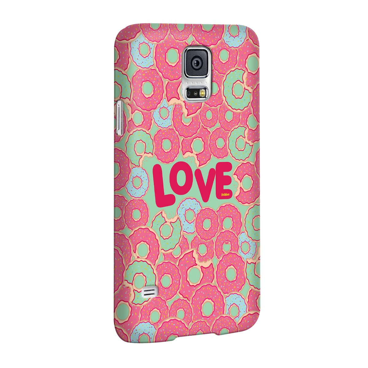 Capa para Galaxy S5 TodaTeen Love Donuts!