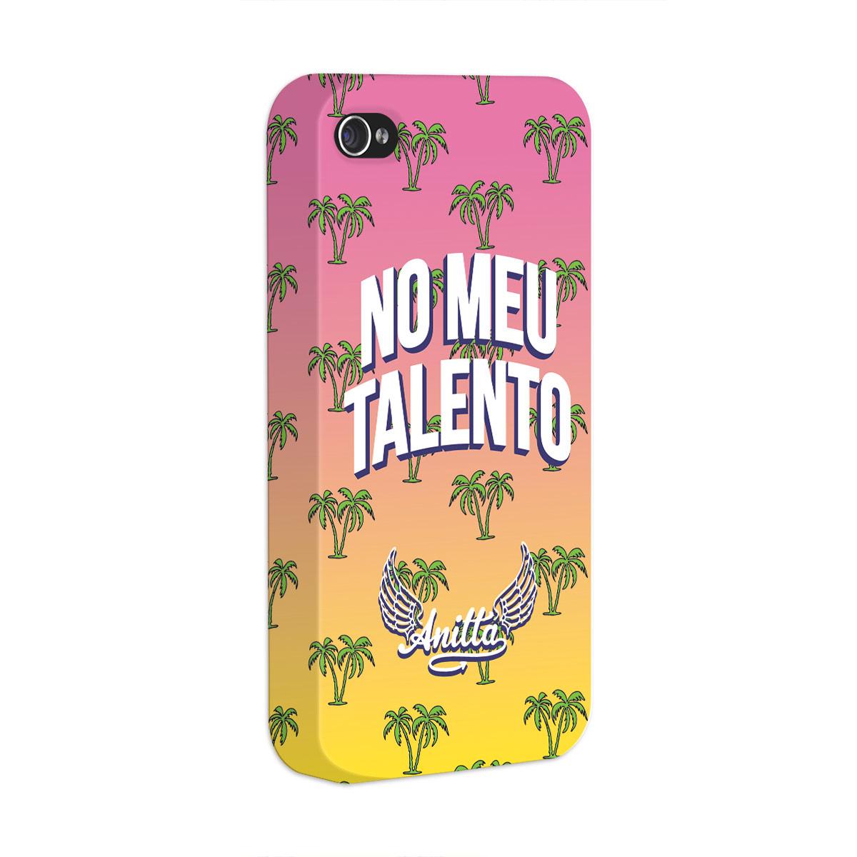 Capa para iPhone 4/4S Anitta No Meu Talento
