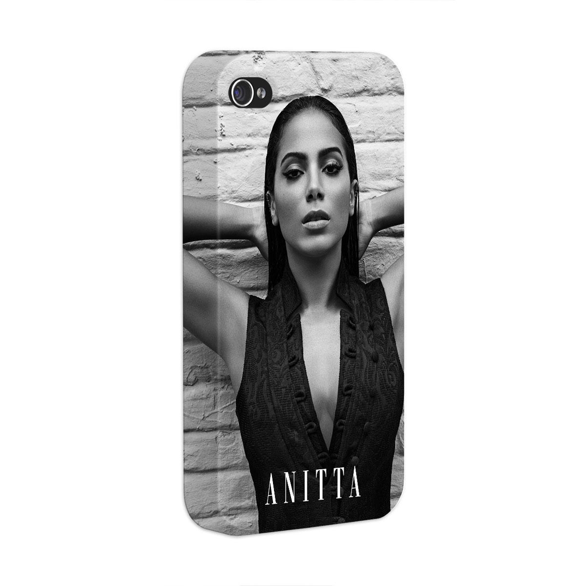 Capa para iPhone 4/4S Anitta P&B