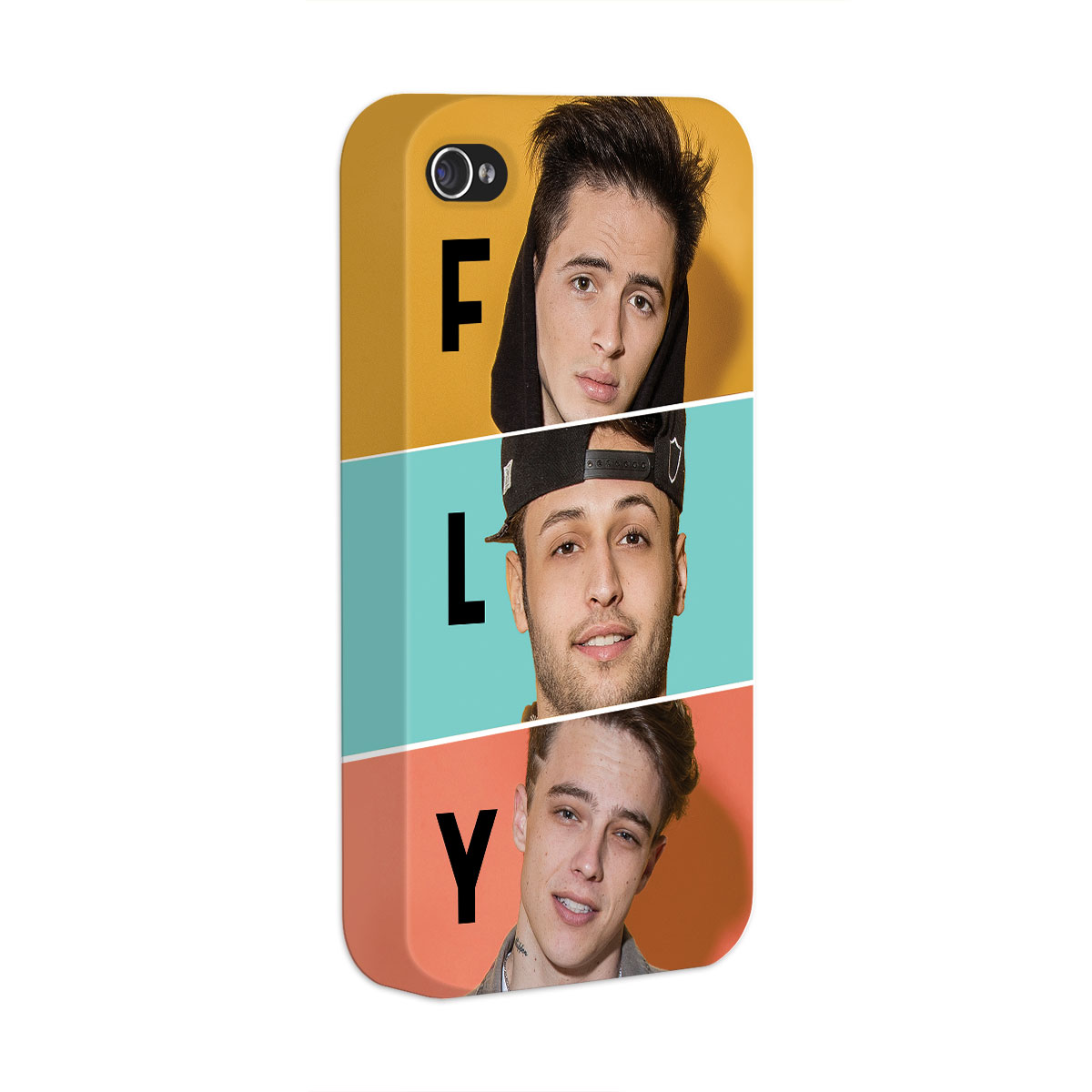 Capa para iPhone 4/4S Banda Fly Trio