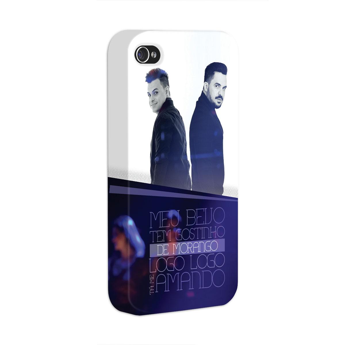 Capa para iPhone 4/4S Carlos & Jader Meu Beijo
