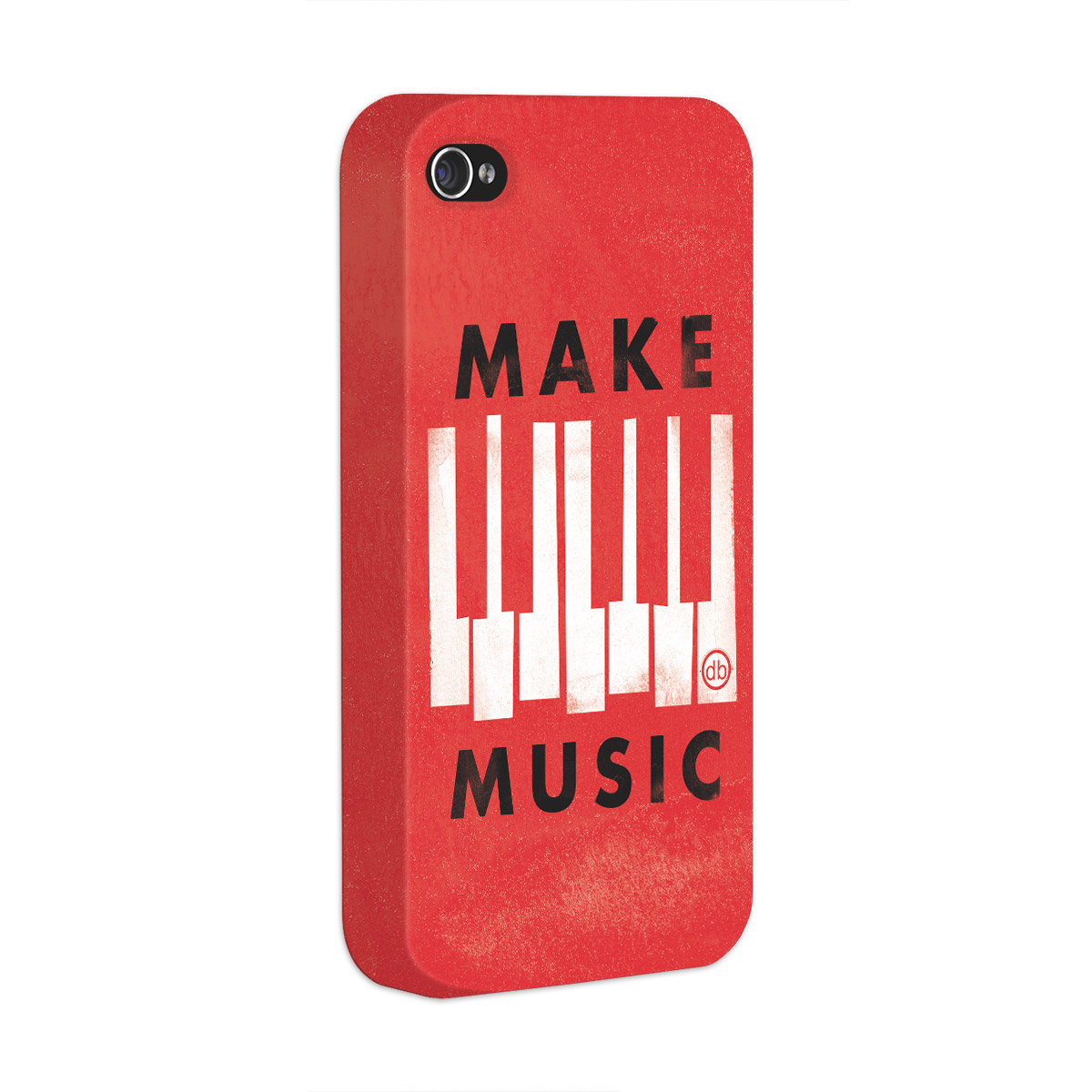 Capa para iPhone 4/4S Dudu Borges Make Music