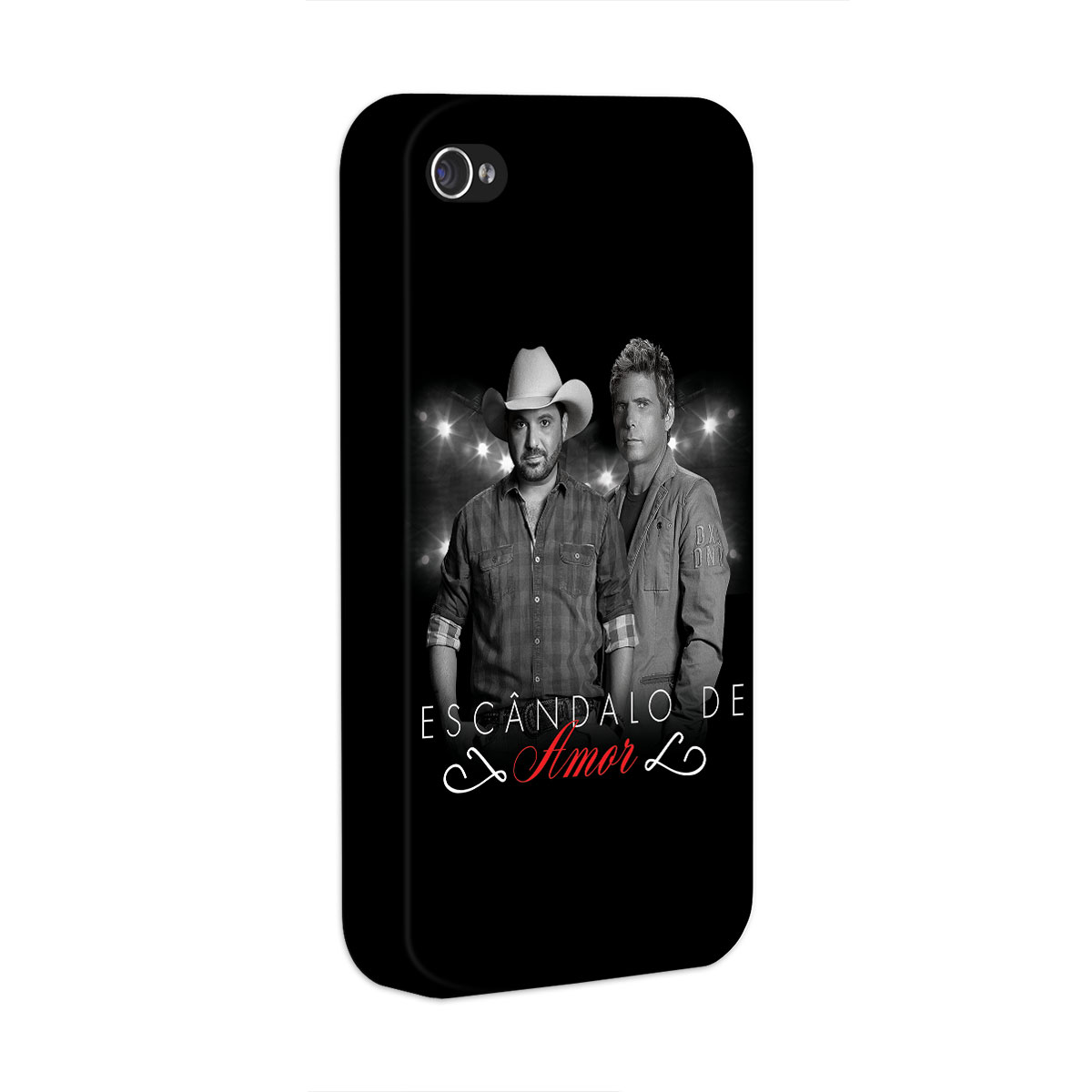 Capa para iPhone 4/4S Edson & Hudson Escândalo de Amor Foto