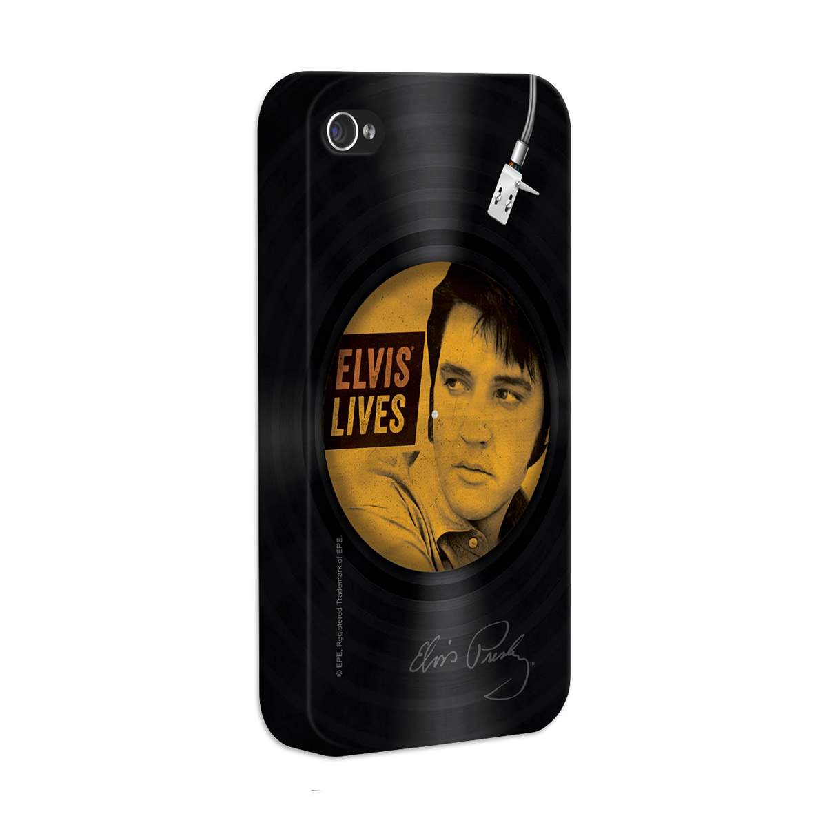 Capa Para iPhone 4/4S Elvis Elvis Lives Vinyl
