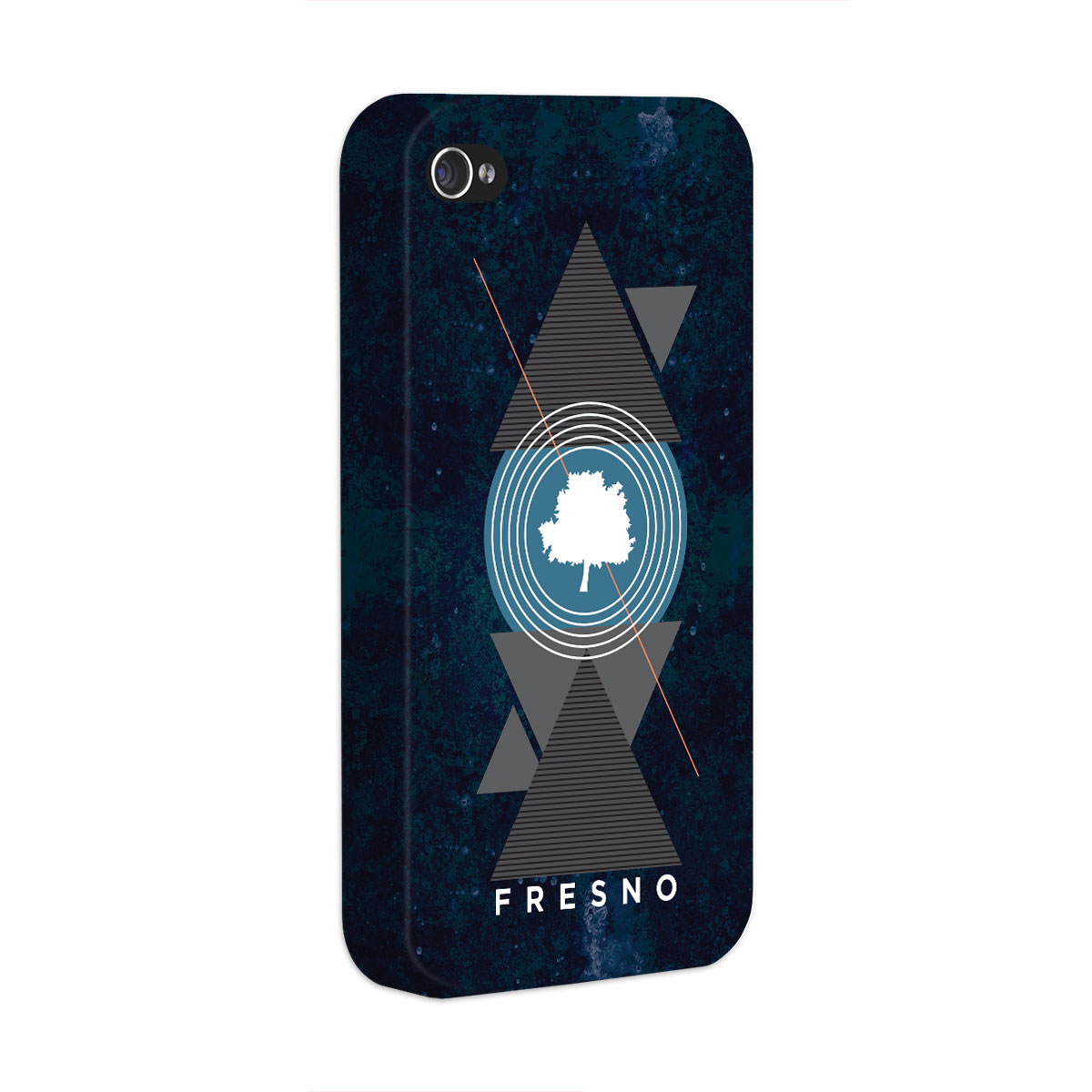 Capa para iPhone 4/4S Fresno Geometric