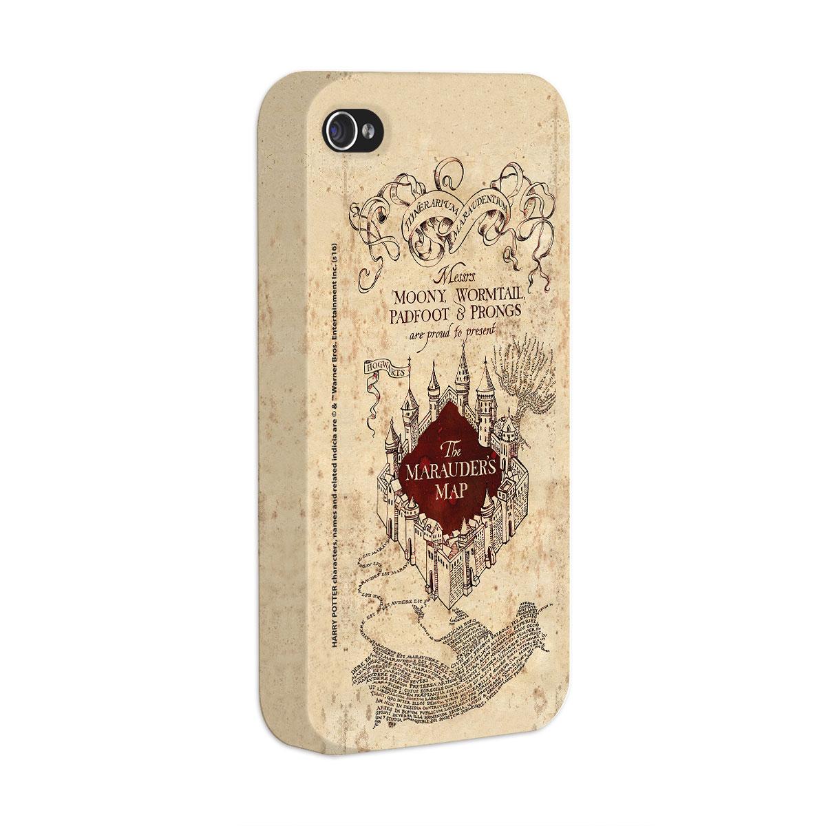 Capa Para iPhone 4/4S Harry Potter The Marauder´s Map