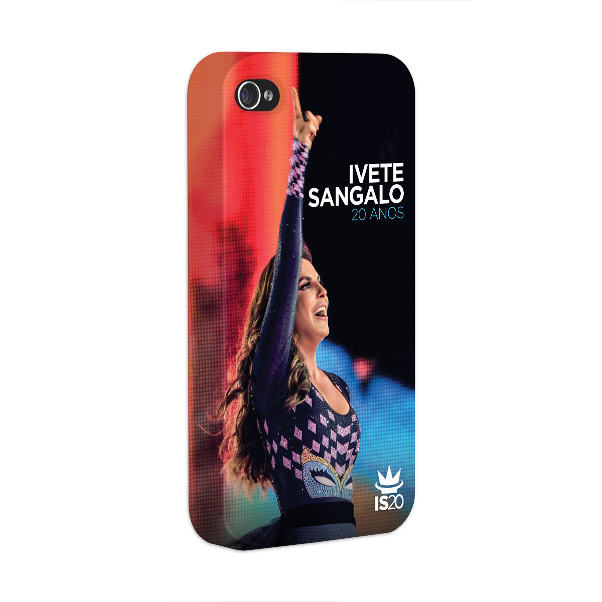 Capa para iPhone 4/4S Ivete Sangalo Capa 20 Anos