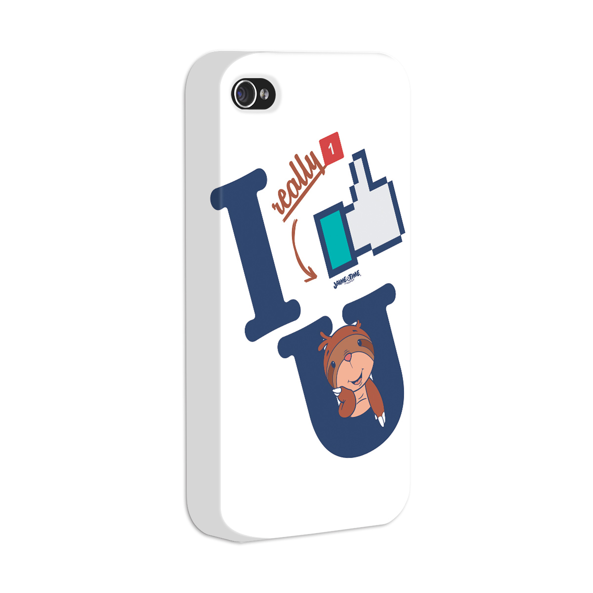 Capa para iPhone 4/4S Jaime I Like You