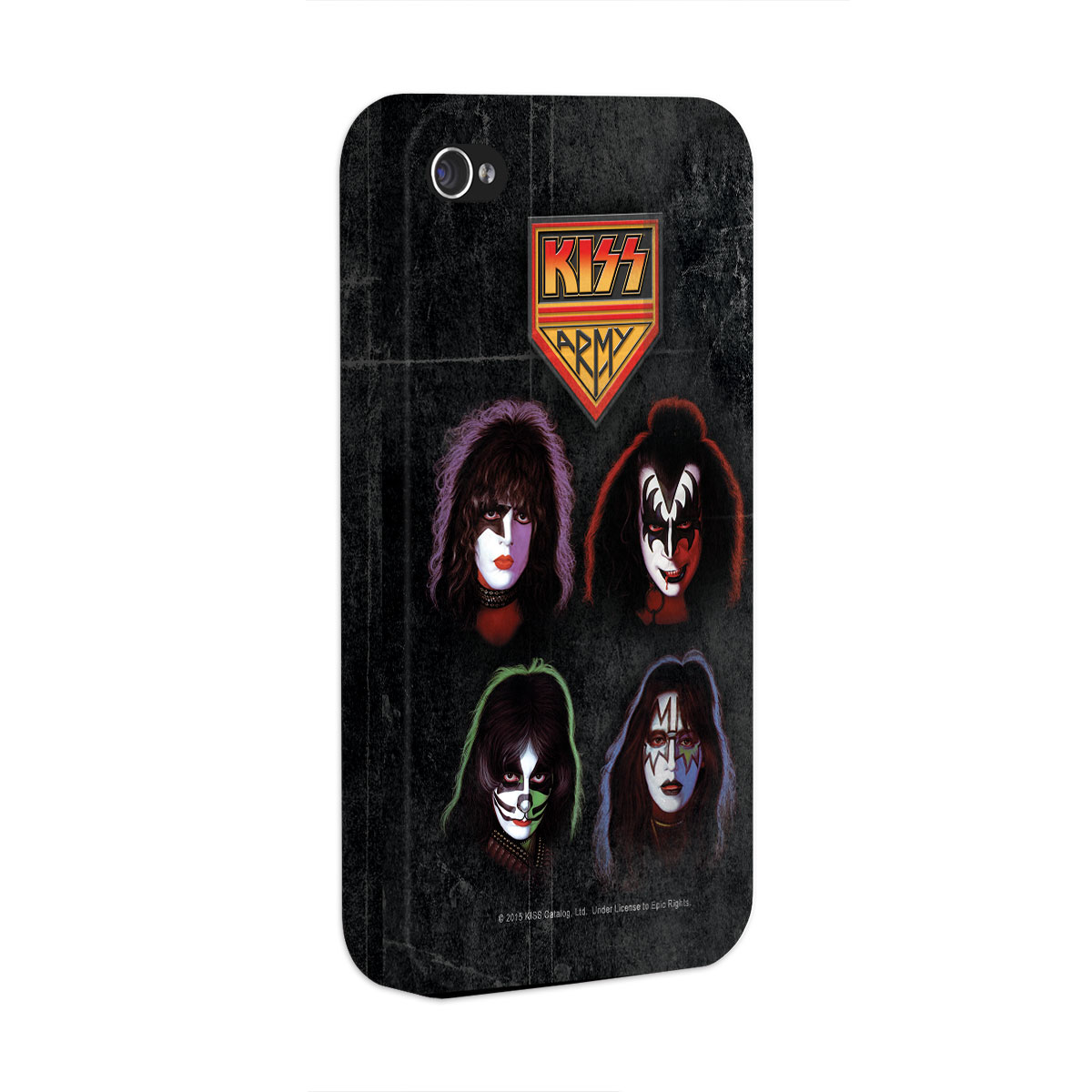 Capa para iPhone 4/4S Kiss Army