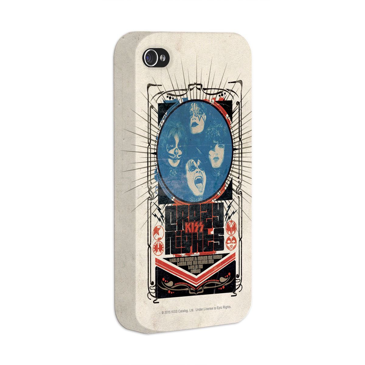 Capa para iPhone 4/4S Kiss Crazy Nights