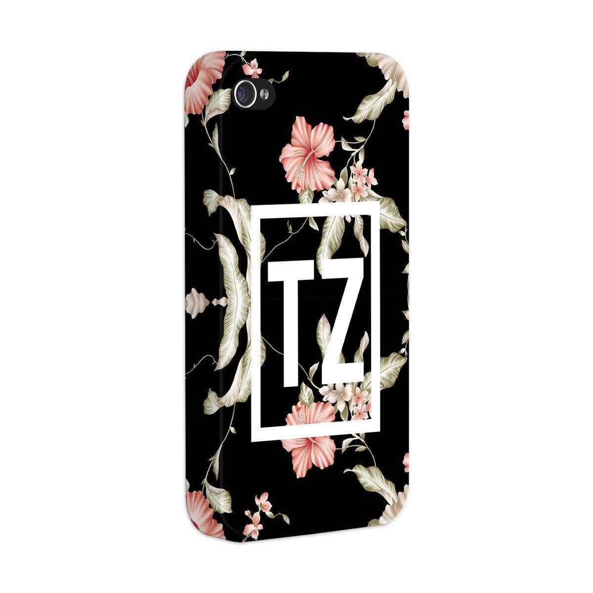 Capa para iPhone 4/4S MC Tati Zaqui Flowers