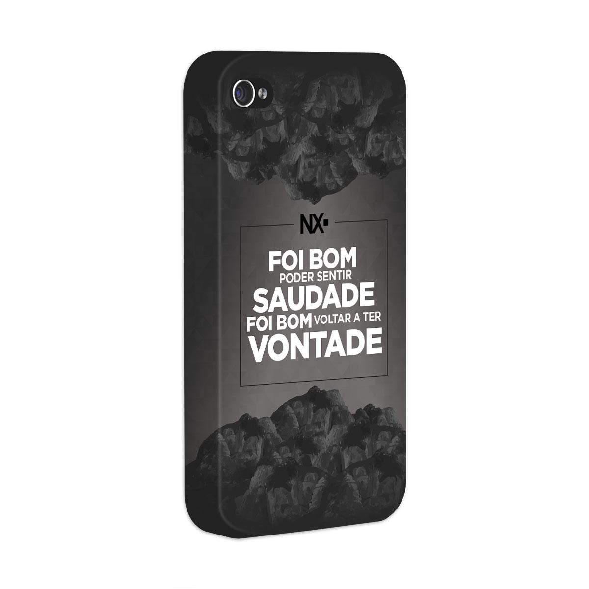 Capa para iPhone 4/4S NXZero Voltar a Ter Vontade