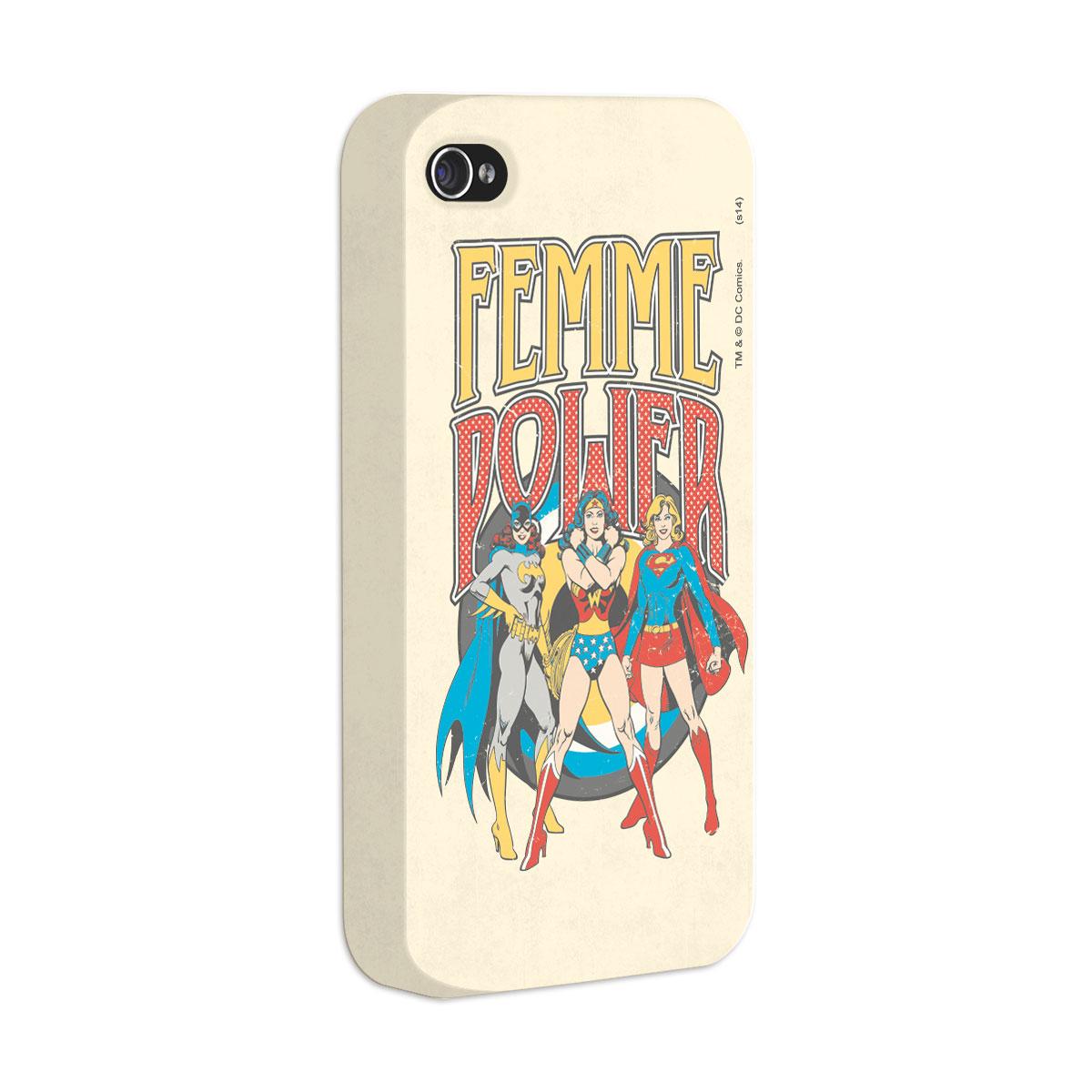 Capa Para iPhone 4/4S Power Girls Femme Power