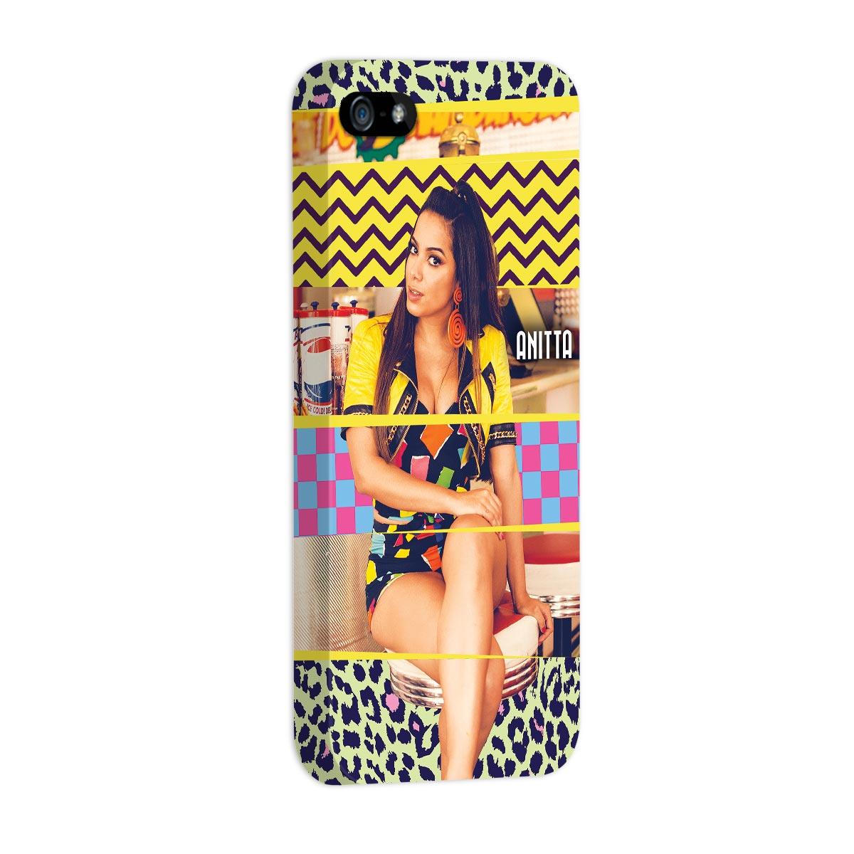 Capa para iPhone 5/5S Anitta Deixa Ele Sofrer