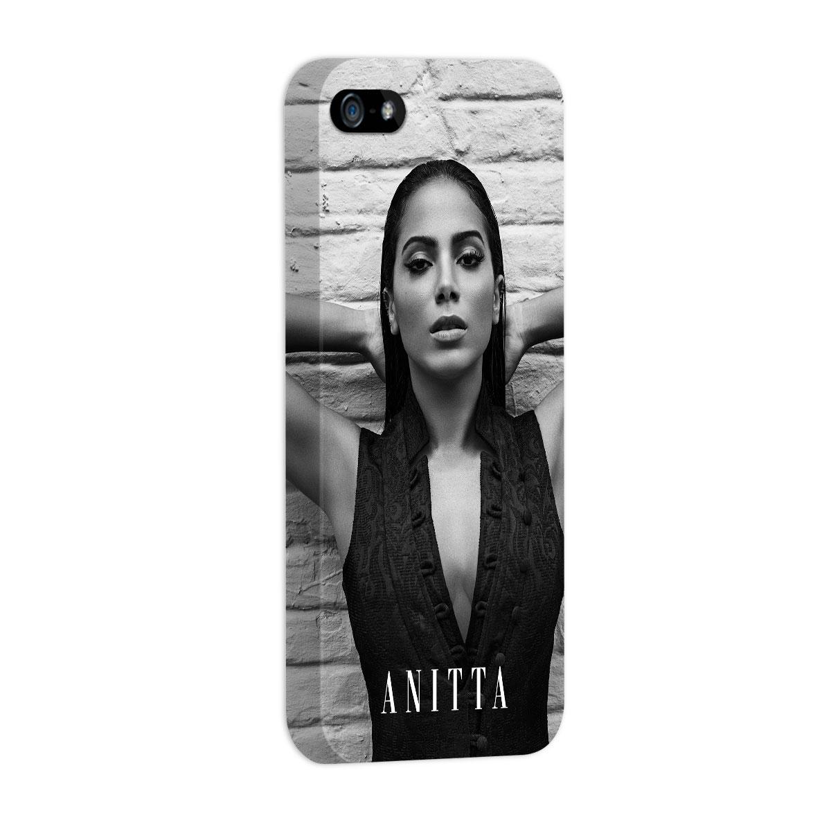 Capa para iPhone 5/5S Anitta P&B