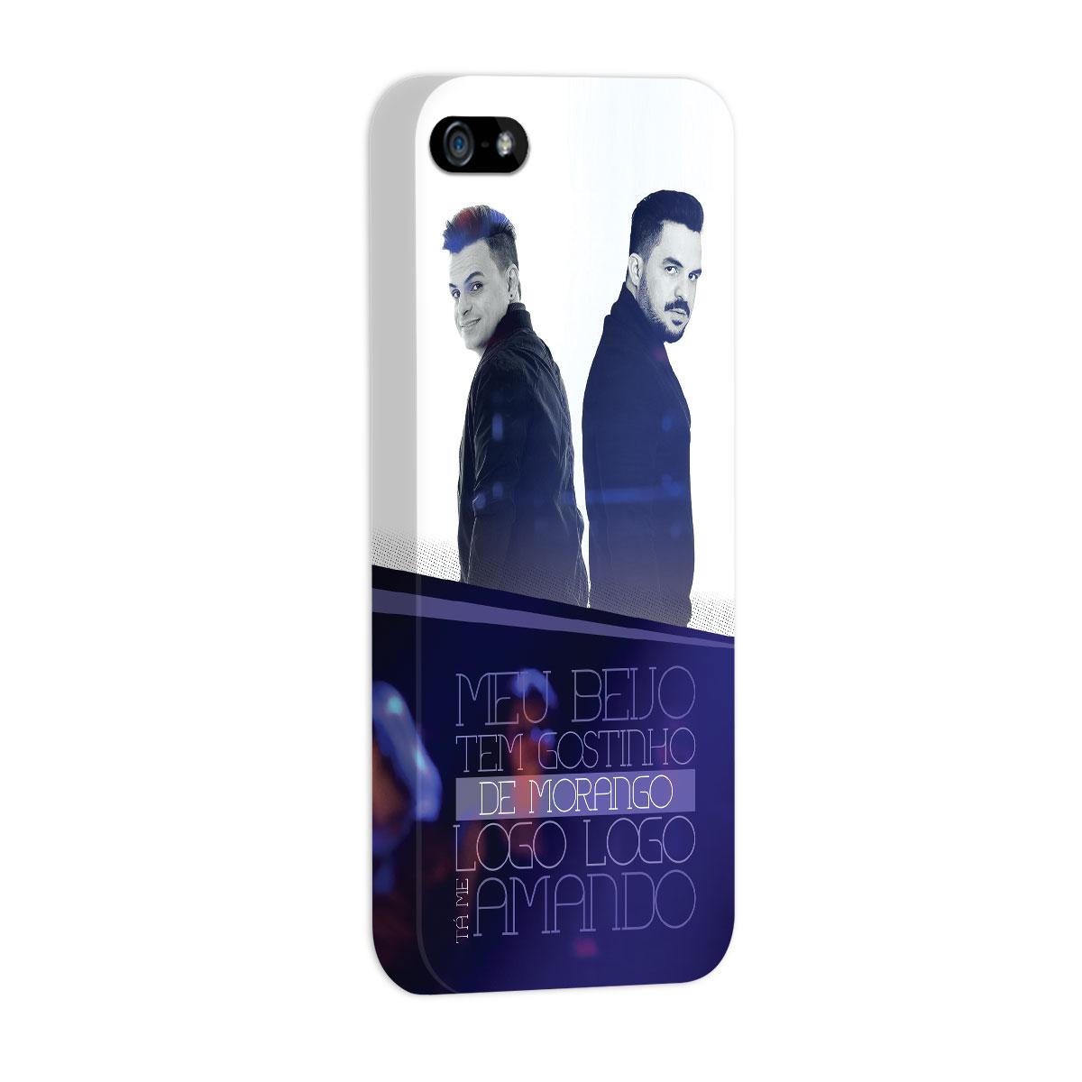 Capa para iPhone 5/5S Carlos & Jader Meu Beijo