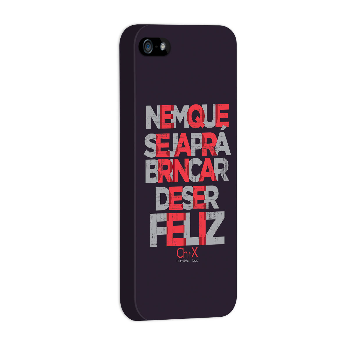 Capa para iPhone 5/5S Chitãozinho & Xororó Brincar de Ser Feliz