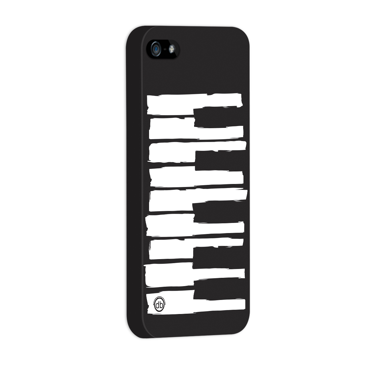 Capa para iPhone 5/5S Dudu Borges Musical Keyboard