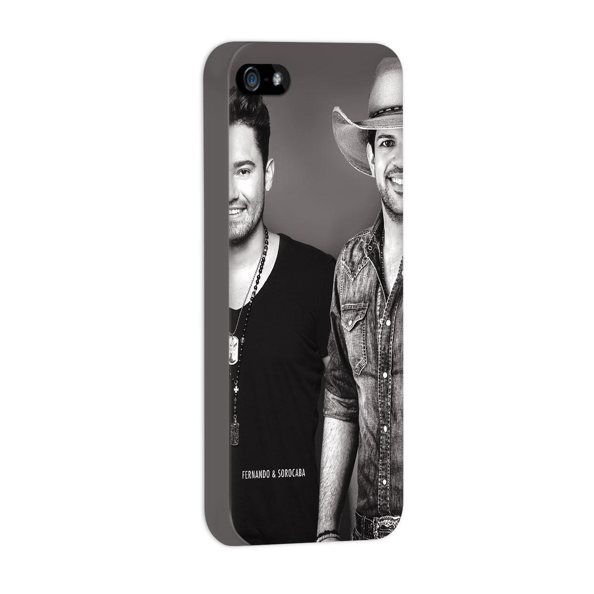 Capa para iPhone 5/5S Fernando & Sorocaba Foto PB