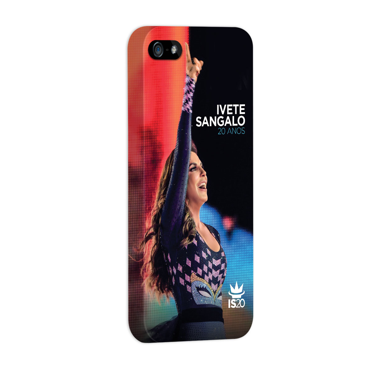 Capa para iPhone 5/5S Ivete Sangalo Capa 20 Anos