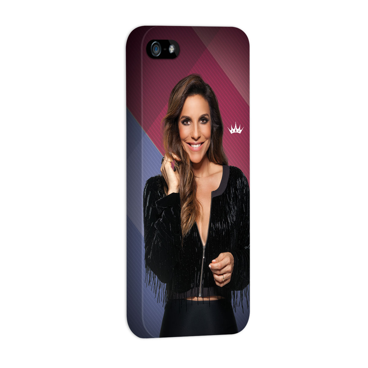 Capa Para iPhone 5/5S Ivete Sangalo Riso
