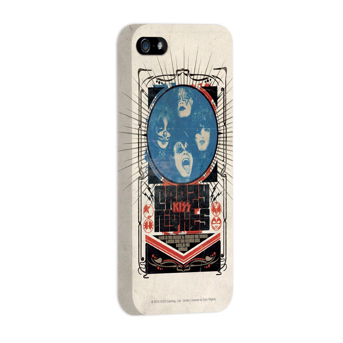 Capa para iPhone 5/5S Kiss Crazy Nights