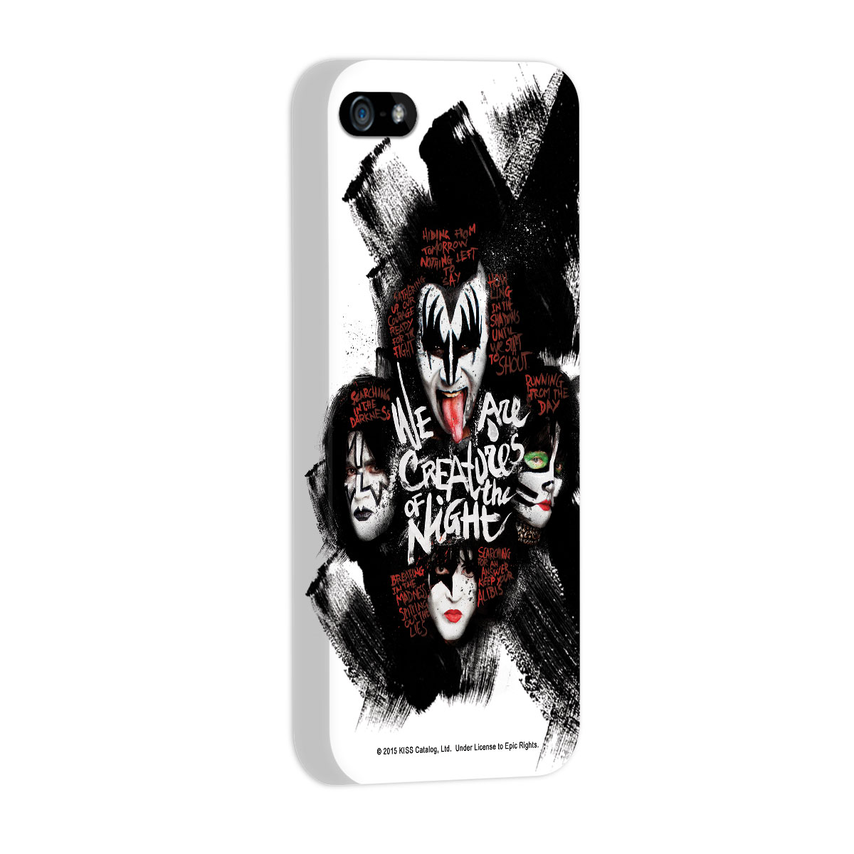 Capa para iPhone 5/5S Kiss Creatures Of The Night