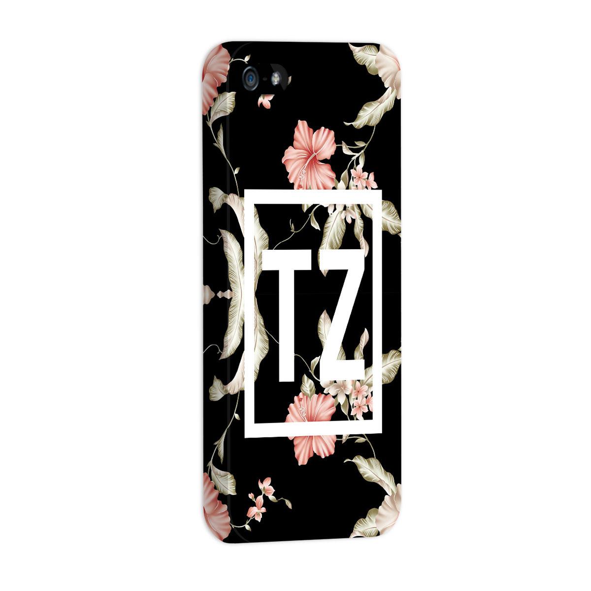 Capa para iPhone 5/5S MC Tati Zaqui Flowers