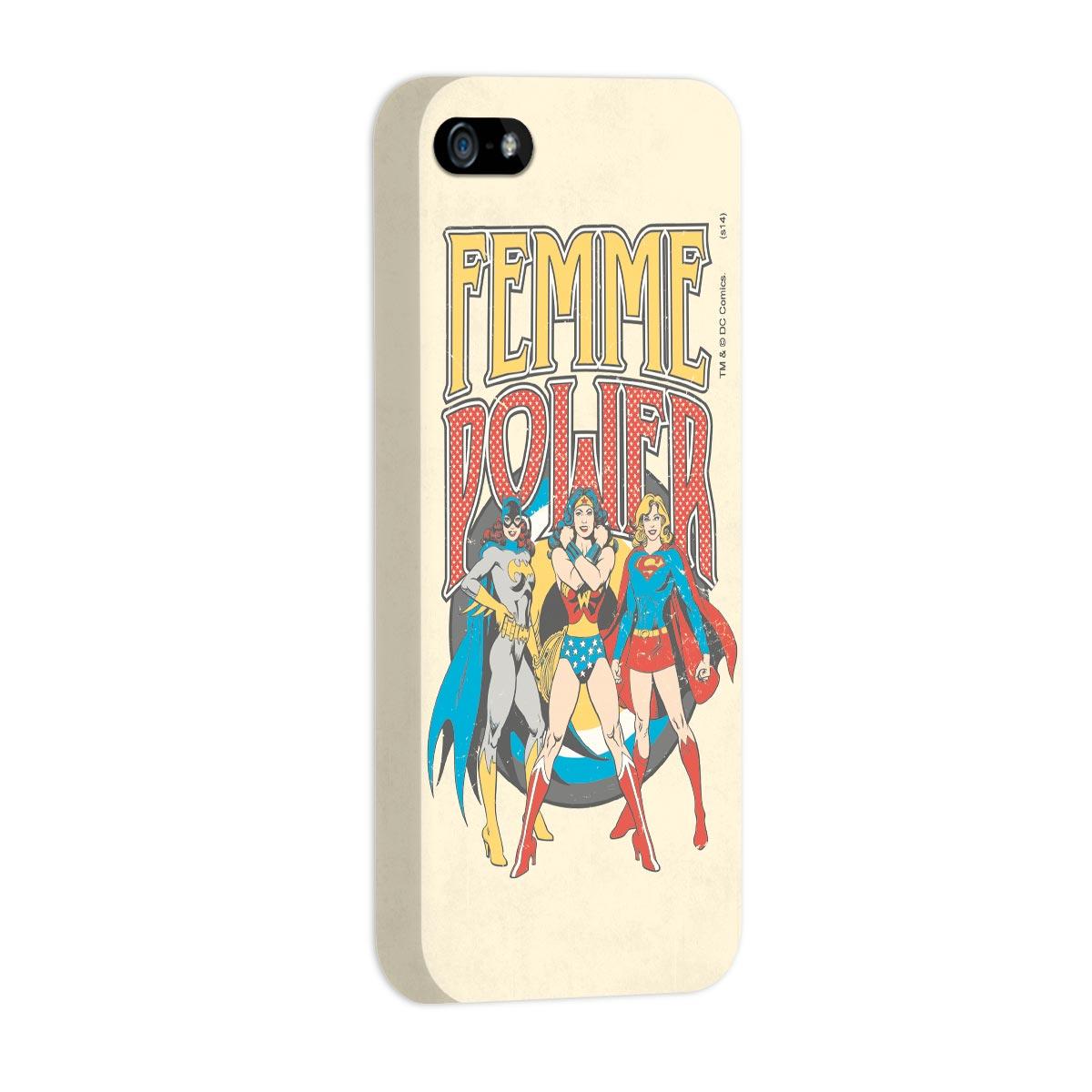 Capa Para iPhone 5/5S Power Girls Femme Power